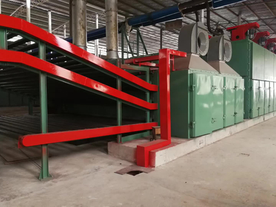 Vertical Plywood Veneer Drying Machine