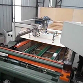 L-model Vertical Veneer Jointing Machine for plywood industry