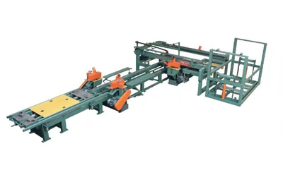L-model Vertical Veneer Jointing Machine